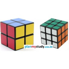 Rubik's Cube Combo 2x2x2 & 3x3x3 Smooth, Lights ome, Excellent Quality, Competition Cube