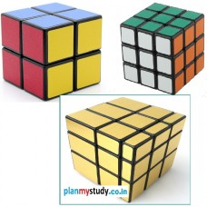 Rubik's Cube  Combo of 2x2x2, 3x3x3 & Mirror 3x3x3 Smooth, Lightsome, Excellent Quality, Competition Cube