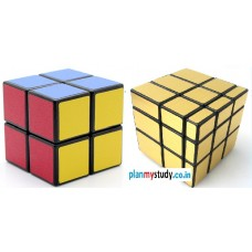 Rubik's Cube Combo of  2x2x2 & Mirror 3x3x3 Smooth, Lightsome, Excellent Quality, Competition Cube