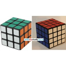 Rubik's Cube Combo of 3x3x3 & 4x4x4  Smooth, Lightsome, Excellent Quality, Competition Cube