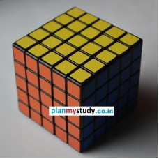 Rubik's Cube 5x5x5 Smooth, Light some, Excellent Quality, Competition Cube