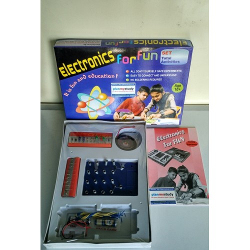 Understanding electronics by performing experiments electronics for fun for students age 10 do it yourself diy science solutioingenieria Images