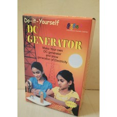 DC Generator for Students for Ages 10+, Do It Yourself (DIY) Science Kit