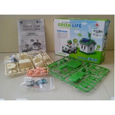 Green Life Solar Rechargeable Kit for Students of age 10+, Do It Yourself (DIY) Science Kit