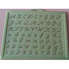 Letter learning & handwriting improvement Slate-English Cursive (small size)