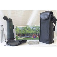 Top Quality 20x50 Zoom HD Monocular Outdoor Telescope With Portable Tripod, Night Version Spotting Scope