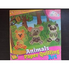 Animals Paper Quilling Art for Kid's Fun and Learn