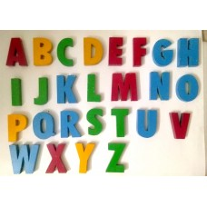 Alphabets made of good quality wood for learning and teaching (A TO Z)