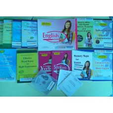 Fluent English Speaking Course, for all ages, neatly designed in three parts, by Franklin International