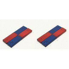 ferrite Bar Magnets size 53x10x7mm Set of 4 magnets for Science Project & Fun