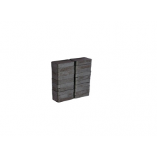 Ferrite Block Magnets 25x11x6mm Set of 20 Magnets for Science project & fun
