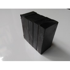 Ferrite Block Magnets 50x25x10mm Set Of 5 Magnets for Science project & fun