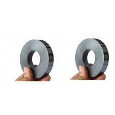 Ferrite Core Ring Magnet 60x24(Hole)x10mm Set Of 2 Magnets for Science project & fun