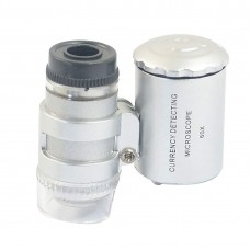 Mini Microscope For Education, jewellery, Coin, Stamps Geography High magnification-60X